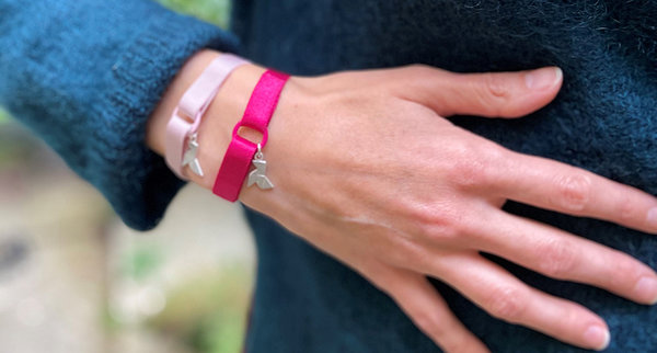 Bracelets Octobre Rose Cocotte Power